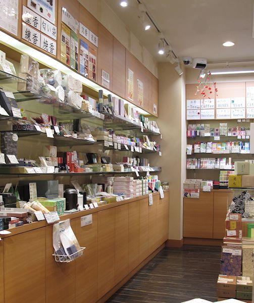 Översikt över butiken Kohgen Ginza