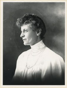 Ida Trotzig, porträtt cirka 1900