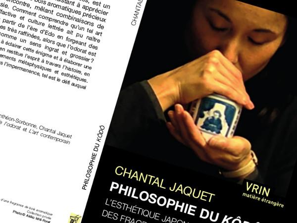 """Omslaget på Chantal Jaquets bok """"Philosophie du kôdô"""""""